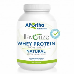APOrtha flavorize Whey Protein Isolat NATURAL - 1.000 g