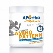 APOrtha Sports Amino Pattern essentielle Aminosäuren - 420 vegane Tabletten